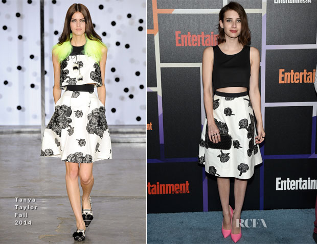 Emma Roberts In Houghton & Tanya Taylor - Entertainment Weekly's Annual Comic-Con Celebration