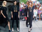 Emma Stone In Antonio Berardi - The Daily Show with Jon Stewart