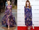 Emma Stone In Dolce & Gabbana - 'Magic In The Moonlight' New York Premiere