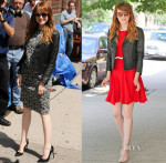 Emma Stone In Giambattista Valli & Saint Laurent - Late Show with David Letterman