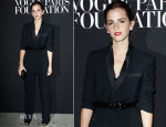 Emma Watson In Givenchy - Vogue Foundation Gala