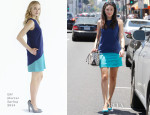 Emmy Rossum In Of Mercer - Out In LA