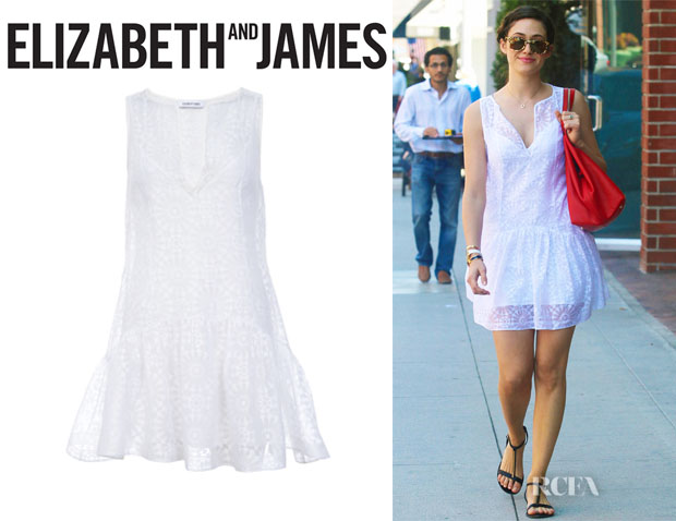 Emmy Rossum's  Elizabeth and James 'Emi' Sleeveless Dress