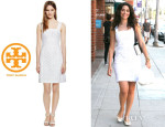 Emmy Rossum's Tory Burch 'Margaux' Dress