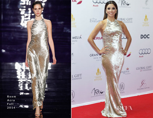 Eva Longoria Reem Acra Global Gift Gala