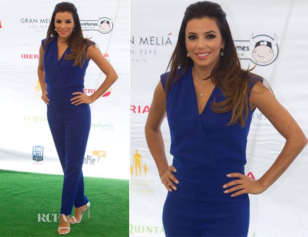 Eva Longoria  SAFiYAA - Global Gift Gala 2014 Marbella