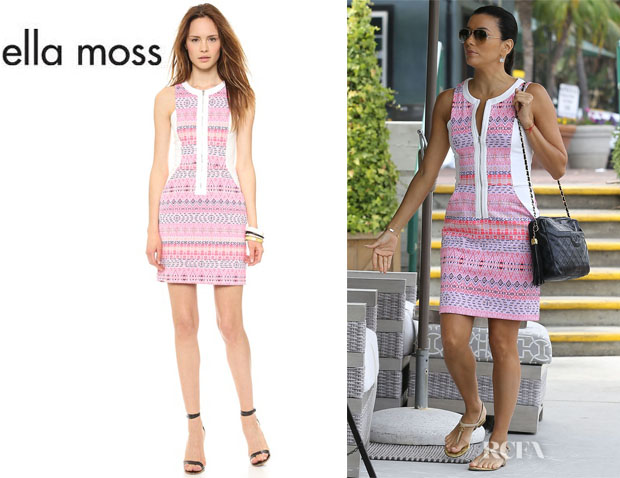Eva Longoria's Ella Moss 'Paz' Mini Dress