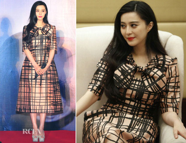 Fan Bingbing In Chictopia - 'The White Haired Witch of Lunar Kingdom' Chengdu Press Conference
