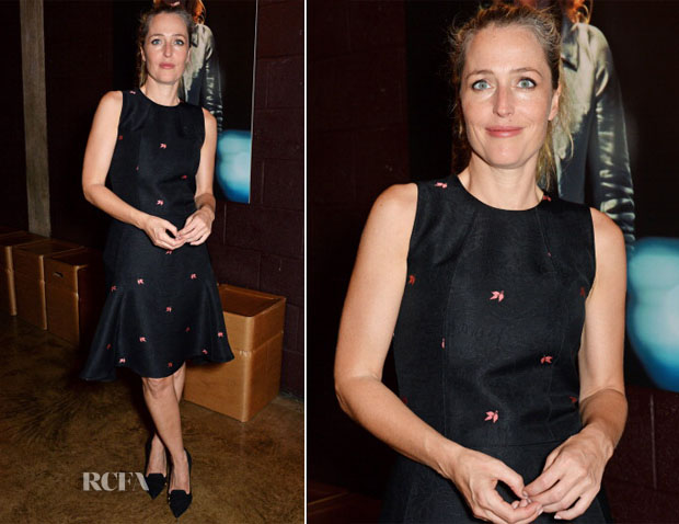 Gillian Anderson In Mulberry - 'A Streetcar Named Desire'  Press Night After Party