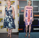 Gwendoline Christie In Giles & Peter Pilotto -  Comic-Con 2014 & Entertainment Weekly's Annual Comic-Con Celebration