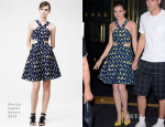 Hailee Steinfeld In Markus Lupfer - The Today Show