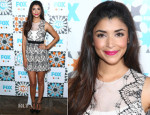Hannah Simone In BCBG Max Azria - FOX All-Star Party