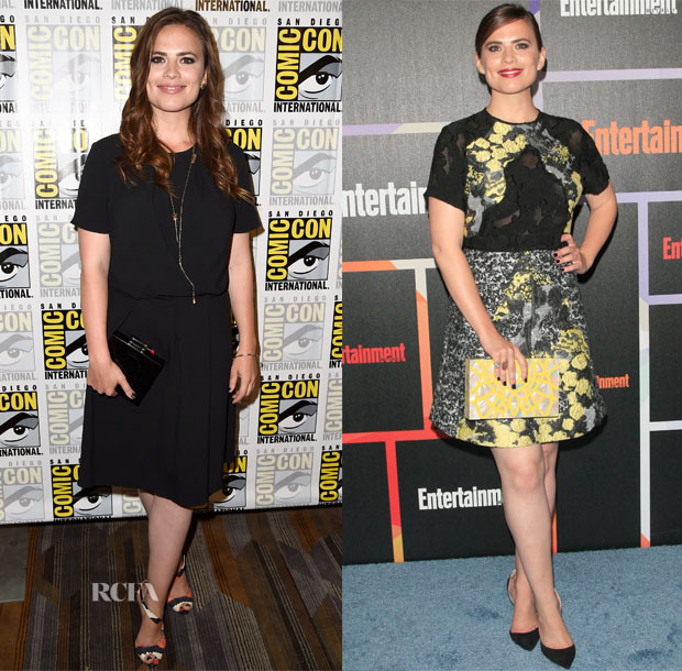 Hayley Atwell In Mulberry & Michael Van der Ham - Comic-Con 2014 & Entertainment Weekly's Annual Comic-Con Celebration