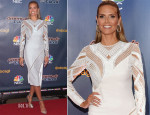 Heidi Klum In Versace - 'America's Got Talent' Season 9 Pre-Show Red Carpet Event