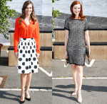 Hilary Swank & Marcia Cross In Marc Cain - Marc Cain Spring 2015 Fashion Show
