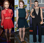 Holland Roden In Jay Godfrey, Opening Ceremony & Haney - Comic-Con 2014 Entertainment Weekly's Annual Comic-Con Celebration