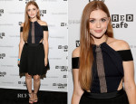 Holland Roden In Self-Portrait - MTV's 'Teen Wolf' Panel: Comic Con 2014