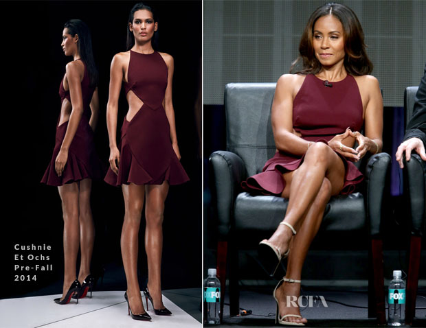 Jada Pinkett Smith In Cushnie et Ochs - 2014 Summer Television Critics Association