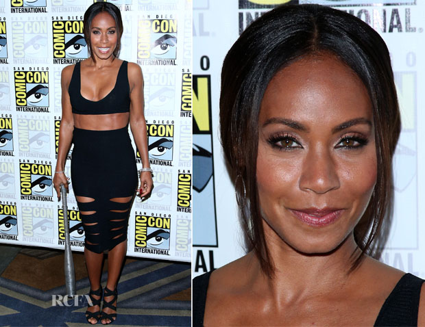 Jada Pinkett Smith In Cushnie et Ochs - 'Gotham' Comic-Con Press Line