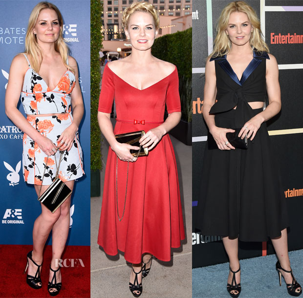 Jennifer Morrison In Lublu Kira Plastinina & Paule Ka - 'Bates Motel' Party, Comic-Con 2014, Entertainment Weekly's Annual Comic-Con Celebration