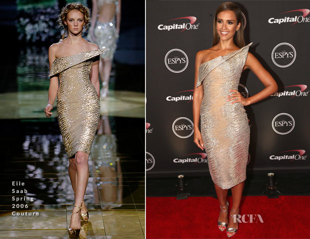 Jessica Alba In Elie Saab Couture - 2014 ESPY Awards