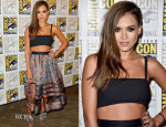 Jessica Alba In Tanya Taylor & Zimmermann - Comic-Con 2014 'SinCity A Dame To Kill For' Experience