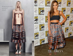 Jessica Alba In Zimmermann - Comic-Con 2014 'SinCity A Dame To Kill For' Experience