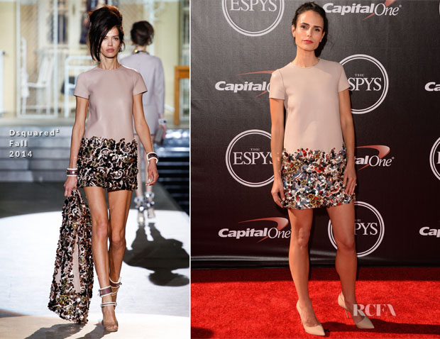 Jordana Brewster In Dsquared² - 2014 ESPYS