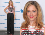 Judy Greer In Stella McCartney - SiriusXM Studios