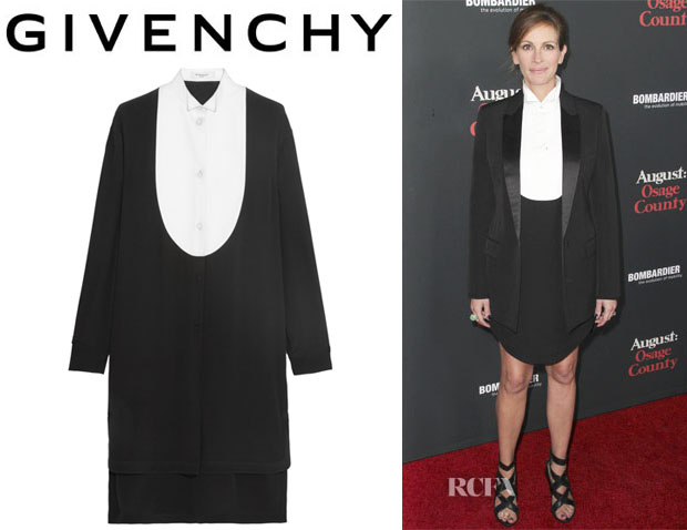 Julia Roberts' Givenchy Shirt Dress