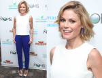 Julie Bowen In Monique Lhuillier - 'Planes: Fire And Rescue' New York Screening