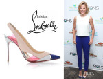 Julie Bowen's Christian Louboutin 'Air Chance' Slingback Pumps