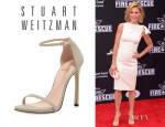 Julie Bowen's Stuart Weitzman	'Nudist' Sandals