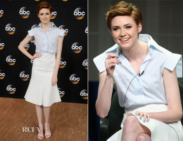 Karen Gillan In Ellery - 2014 Television Critics Association Summer Press Tour