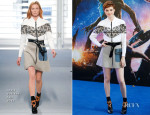 Karen Gillan In Louis Vuitton - 'Guardians Of The Galaxy' London Premiere