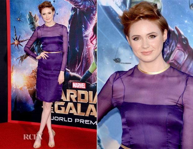 Karen Gillan In Prada - 'Guardians of the Galaxy' LA Premiere