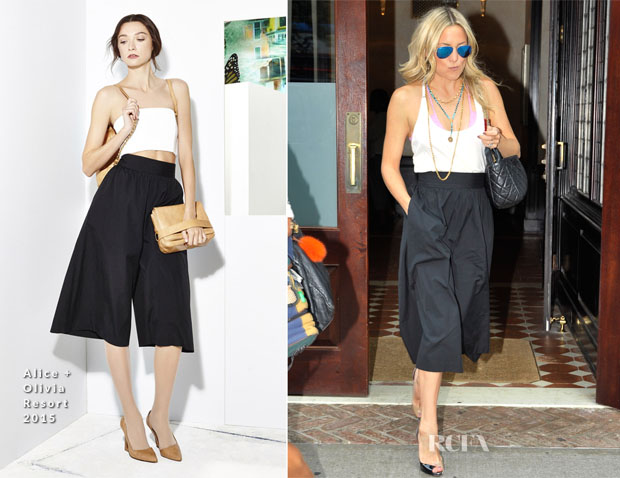 Kate Hudson In Alice + Olivia - Out In New York City