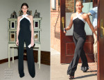 Kate Hudson In Roland Mouret - The Tonight Show Starring Jimmy Fallon