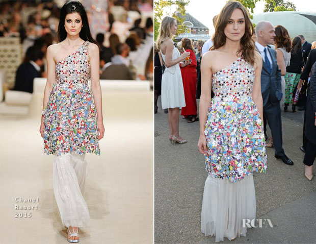 Keira Knightley In Chanel - The Serpentine Gallery Summer Party