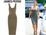 Kim Kardashian's James Perse Skinny Tank Dress