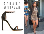 Kourtney Kardashian's Stuart Weitzman 'Nudist' Sandals