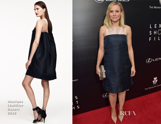 Kristen Bell In Monique Lhuillier - 'Life Is Amazing' Lexus Short Films Series