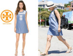 Kristen Bell's Tory Burch 'Calita' Dress