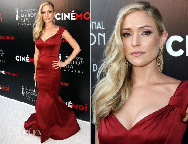 Kristin Cavallari In Zac Posen - International Fashion Film Awards copy