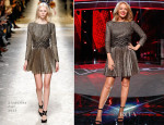 Kylie Minogue In Blumarine - The Voice Media Call