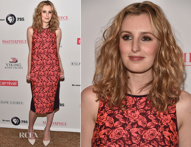 Laura Carmichael In Erdem -  'Downton Abbey' Summer TCA Tour Photocall