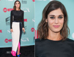 Lizzy Caplan In Roksanda - 'Masters Of Sex' Season 2 Summer TCA Press Tour Event