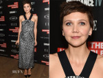 Maggie Gyllenhaal In Roland Mouret - 'The Honourable Woman' New York Screening