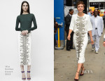 Maggie Gyllenhaal In Wes Gordon - Good Morning America