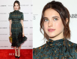 Margaret Qualley In Dolce & Gabbana – 'Magic In The Moonlight' New York Premiere